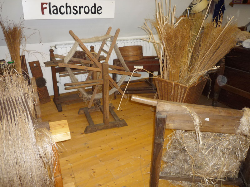Flachsverarbeitung